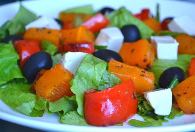 Что приготовить из тыквы: салат из тыквы с сыром