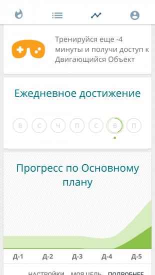 """Мобильное приложение для здоровья глаз """"Зрение+"""""""