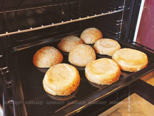 неряха джо: булочки в духовке