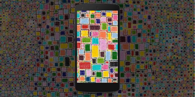 Более 50 красивых мозаичных обоев для ваших смартфонов