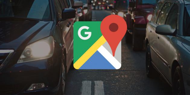 Google Maps cover traffic
