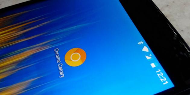 Вышла экспериментальная ветка Chrome Canary для Android