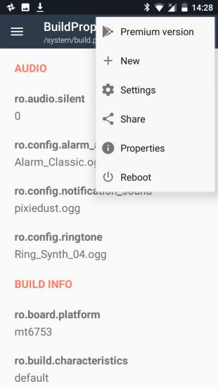 Pixel XL BuildProp Editor new