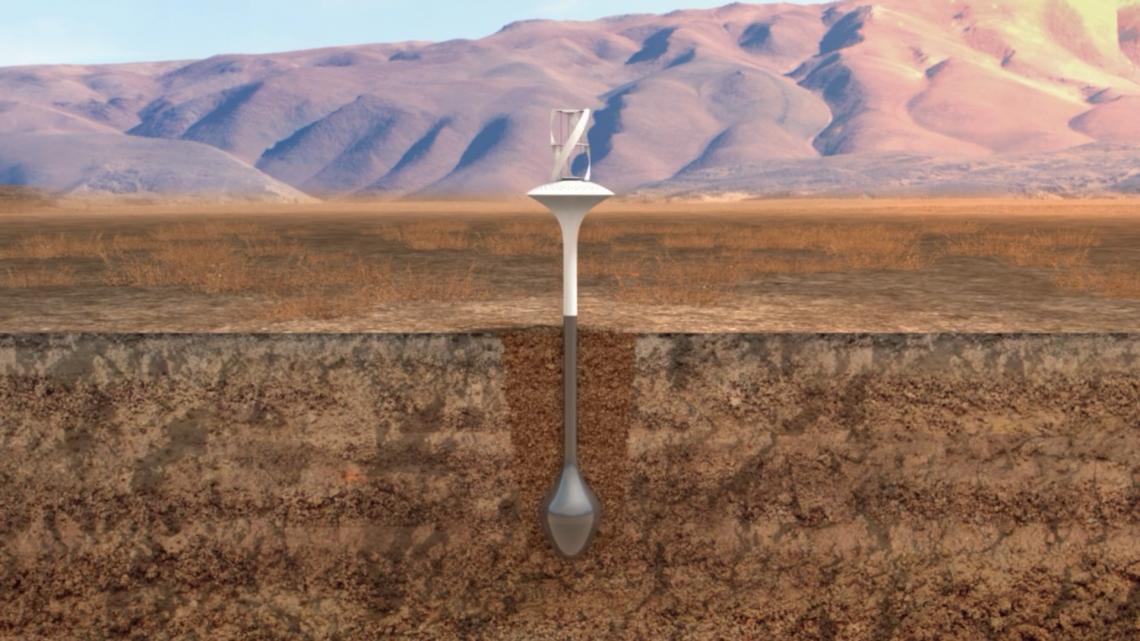 Ветряная установка WaterSeer конденсирует из воздуха 37 литров чистой воды в день