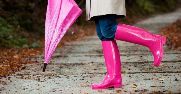 Как растянуть резиновую обувь