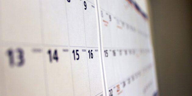 Как составить расписание накаждый день иниразу его ненарушить
