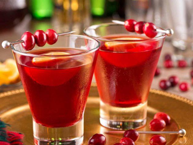 алкогольные настойки: клюквенная калгановка