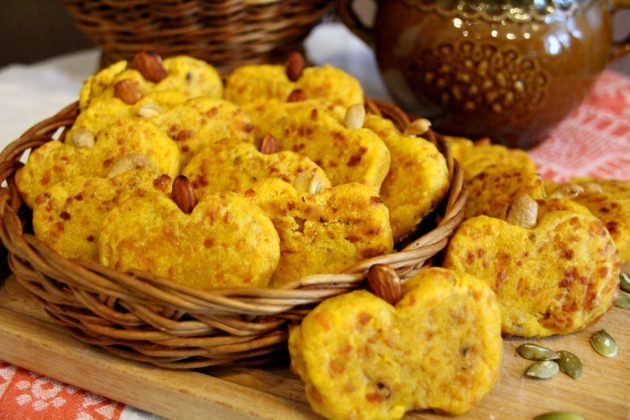 Что приготовить из тыквы: пряное тыквенное печенье