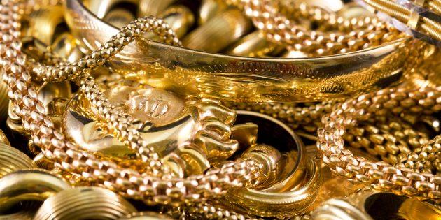 Как почистить золото