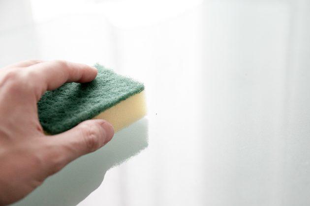кухонные принадлежности: губка