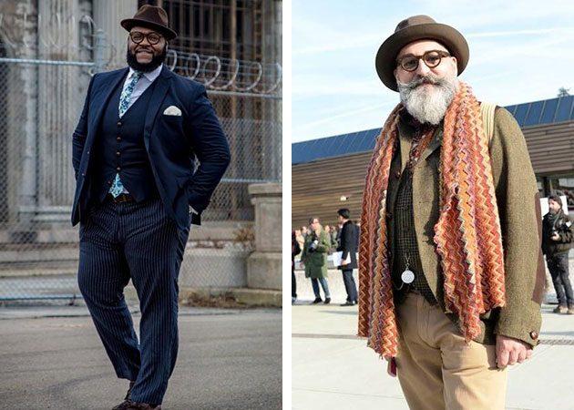 полные мужчины в шляпах