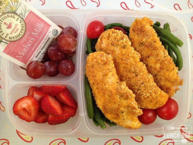 офисные обеды: куриное филе в миндальной панировке