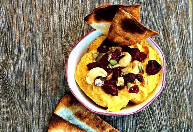 Блюда из тыквы: тыквенный хумус