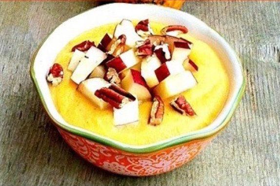 Блюда из тыквы: сладкая тыквенная полента