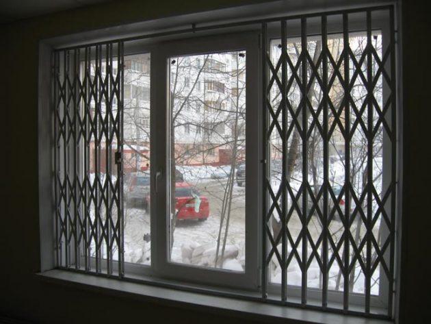 защита квартиры: решетки