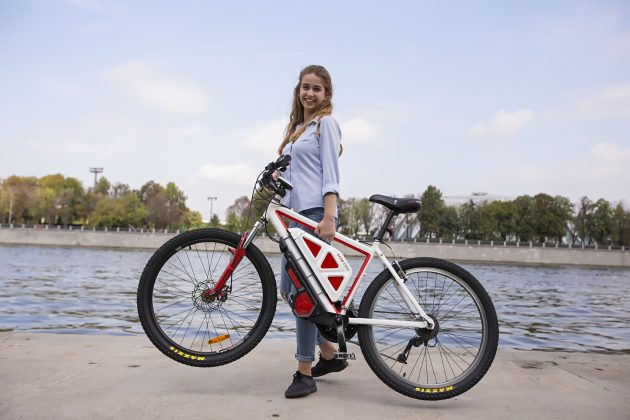 eczo.bike: девушка