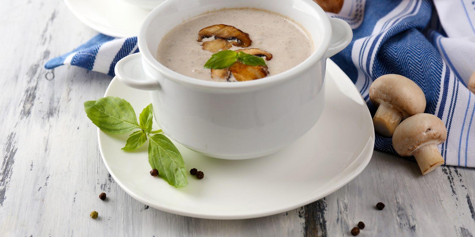 Грибной суп из шампиньонов рецепт пошагово со сливками рецепт