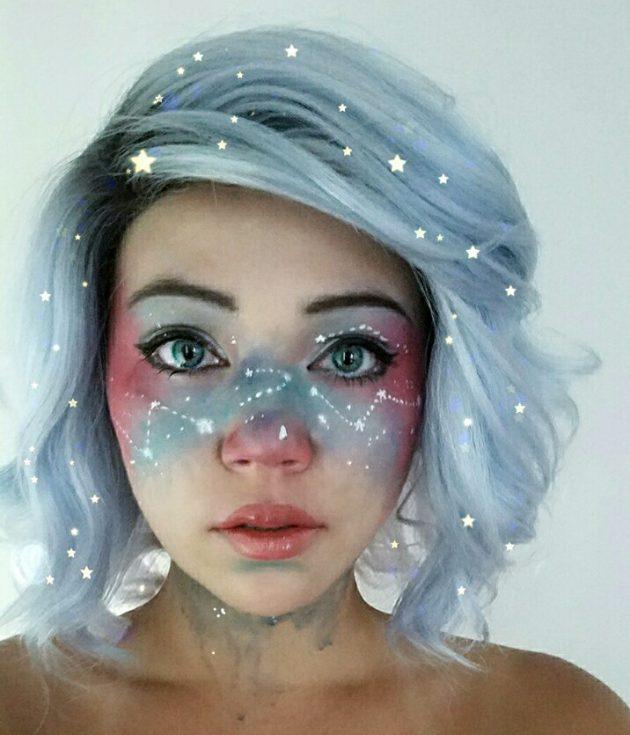 костюм для хеллоуина: макияж
