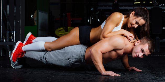 19 необычных парных упражнений, которыми можно разнообразить тренировки
