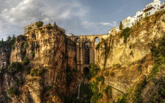 красивые мосты: Пуэнте-Нуэво, Испания