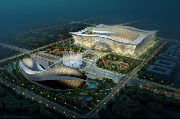 китайская архитектура: Глобальный центр «Новый век» в городе Чэнду