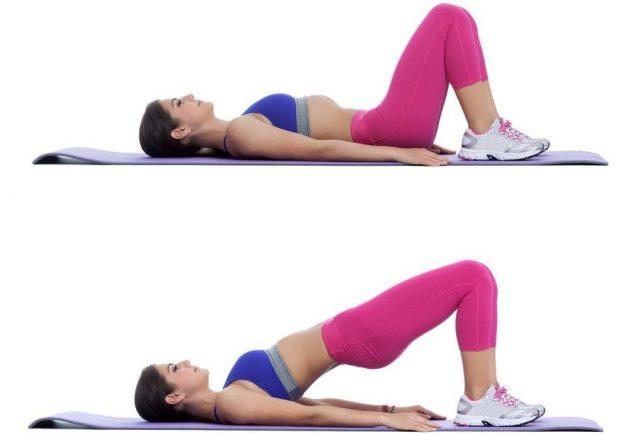 Как убрать бока с помощью упражнений: подъёмы таза