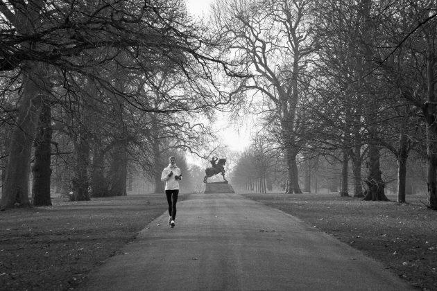 спорт при простуде: легкий бег