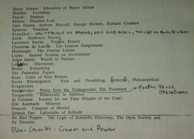 Список Бродского: книги, которые надо прочитать, чтобы с вами было о чём разговаривать