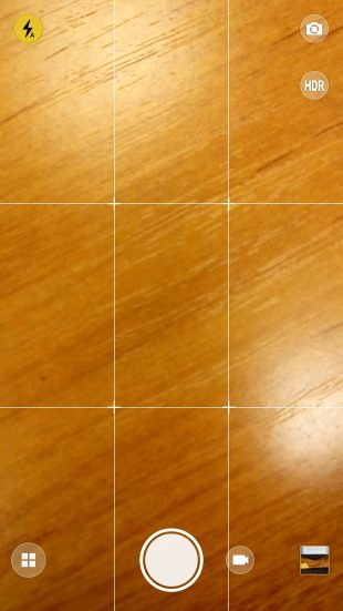 Lenovo K5 Note: сетка для фотосъёмки