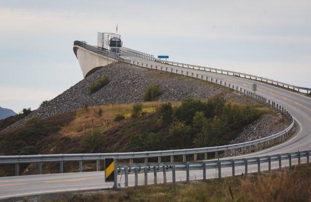 красивые мосты: Сторсезандетский мост, Норвегия