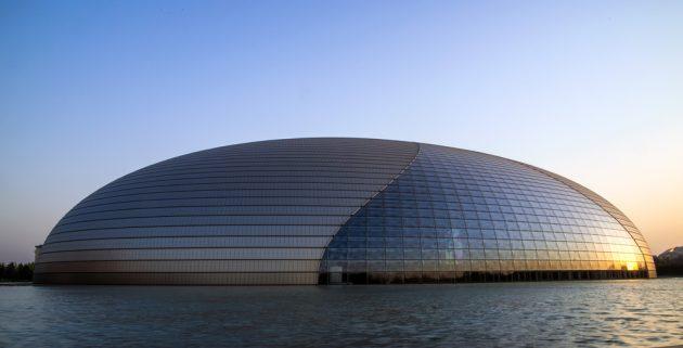 китайская архитектура: Национальный центр исполнительских искусств