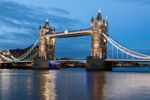 красивые мосты: Тауэрский мост, Лондон