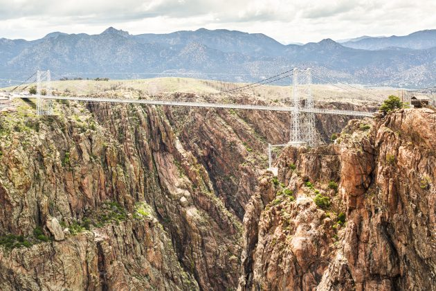 красивые мосты: Роял Гордж, штат Колорадо