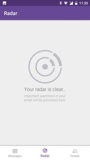 Notion radar