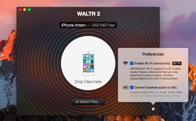 WALTR 2 избавит вас от iTunes-зависимости