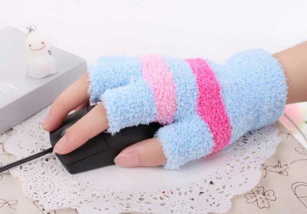 Перчатки с USB-подогревом