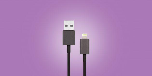 Где купить хороший кабель для iPhone