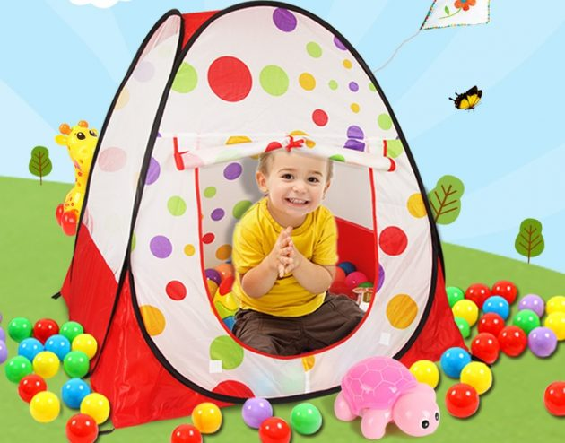 Что подарить ребёнку на Новый год: игровая палатка