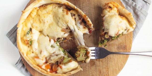 Простой рецепт «перевёрнутой» пиццы