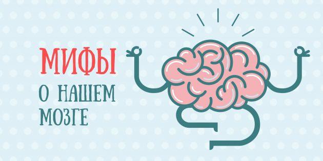 8 мифов о человеческом мозге