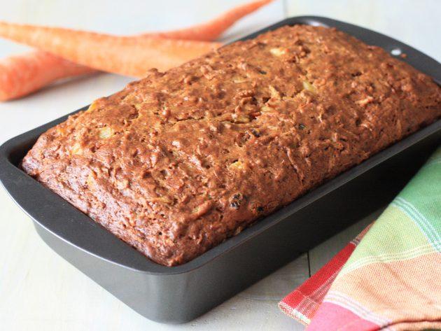 7 имбирных рецептов: Морковно-имбирный кекс с изюмом