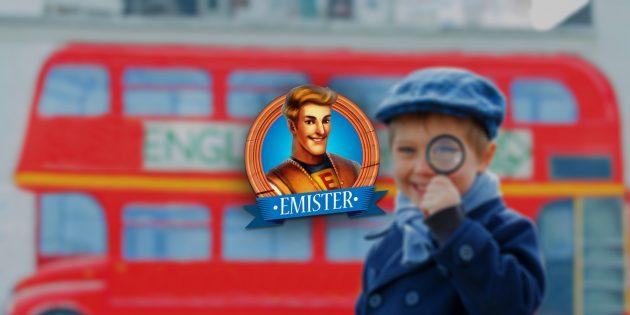 Emister — бесплатный игровой курс английского для взрослых и детей (+ розыгрыш)
