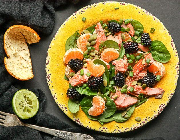 Салатики на скорую руку рецепты на день рождения