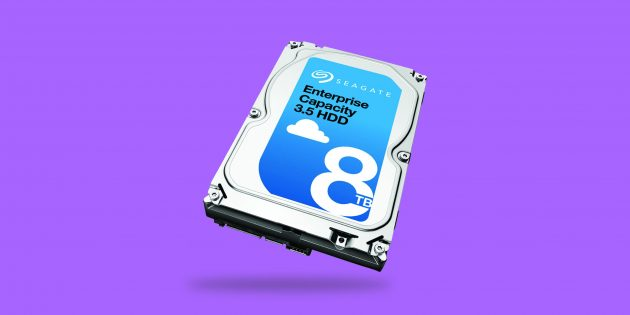 Seagate Enterprise Capacity — гелиевый жёсткий диск на 10 ТБ