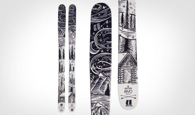 Как выбрать горные лыжи: Универсальные лыжи Armada