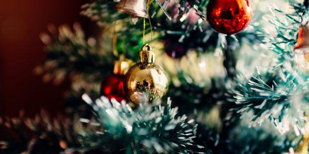 4 способа украсить ёлку к Новому году
