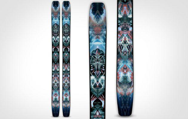 Как выбрать горные лыжи: Парковые лыжи Moment