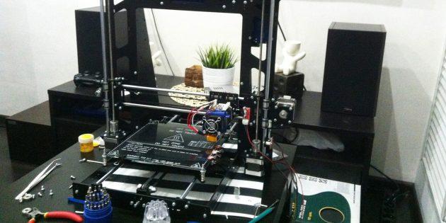Как собрать 3D-принтер со стальной рамой в домашних условиях