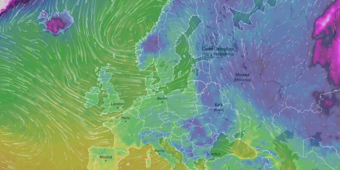 Ventusky —самый точный и наглядный прогноз погоды