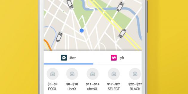 Google Uber cover